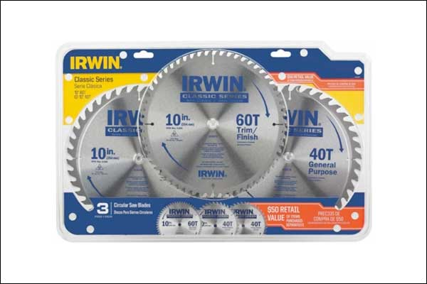 Recalled circular saw blades
