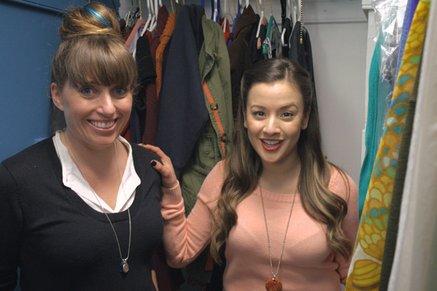 Still image from closet organization video