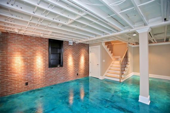 Painted Concrete Floors Floor Ideas