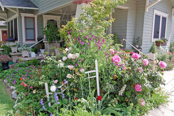 Cottage garden ideas pictures house beautiful design for Cottage garden ideas