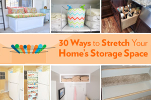 Creative storage collage