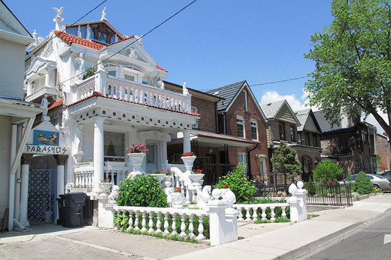 Ornate House That Doesn't Fit the Street | Curb Appeal