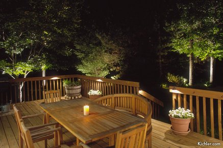 Deck lighting ideas low voltage