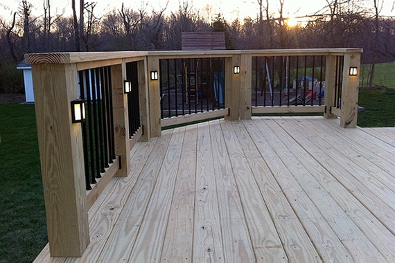 Deck Lighting Ideas | Deck Stair Lighting | HouseLogic Lighting Tips