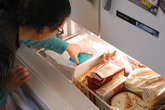 Using the icemaker in a home refrigerator