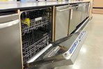A dishwasher for sale inside a store