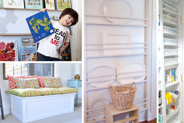 Four ideas for storage solutions in homes