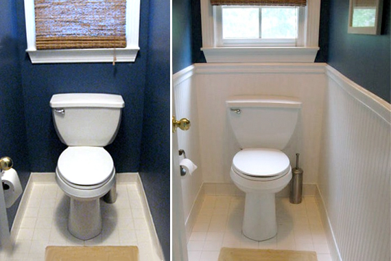 Easy Low Cost Bathroom Makeovers
