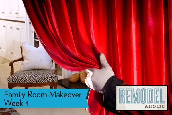 Remodelaholic family room makeover reveal