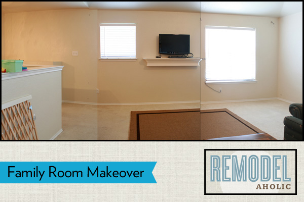 Remodelaholic family room makeover
