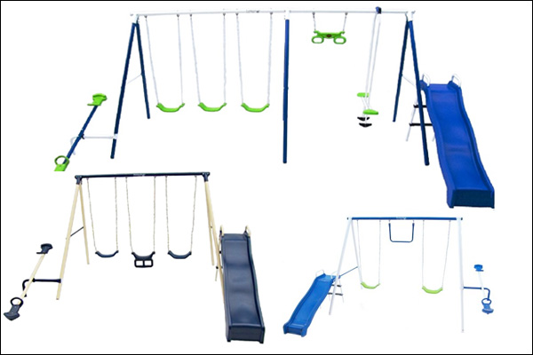 Recalled swing sets