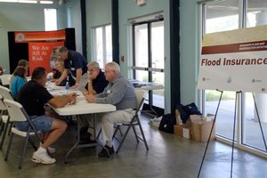 Flood map open house