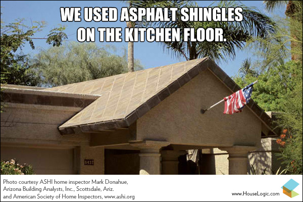 Funny fail meme floor tile roof
