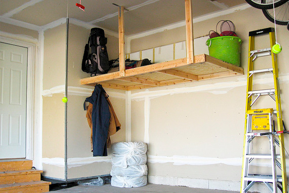 Garage Storage | Garage Organization Ideas | Home Organization Tips