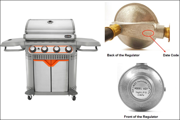 Gas grill invoved in CPSC recall