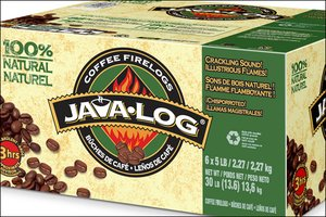 Java Log for a green Christmas gift