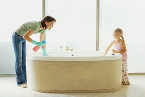 Bathroom Green Cleaning Environmental Bathroom Up-keep