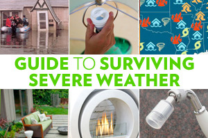 Guide to severe weather disaster collage