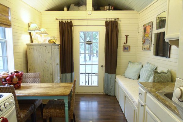 Another happy family living in a tiny house tiny house for Large family living in small house