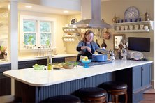 Chef Alysa Plummer's home kitchen