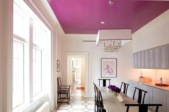 pop ceiling colour combination - Color In Home Design