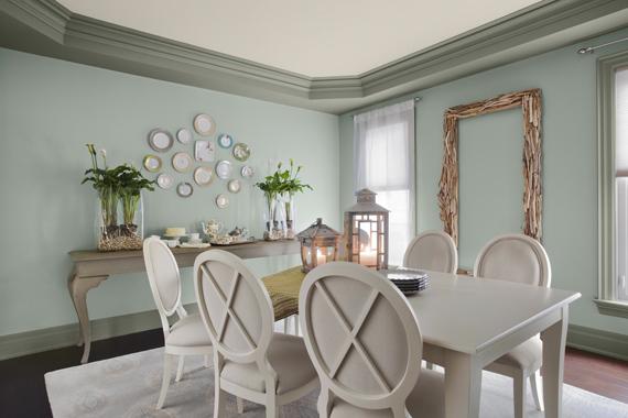 Pale Green Paint Job | Home Improvement Best Projects