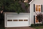 Steel garage door replacement remodeling project