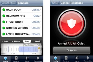 ADT Pulse iPhone application
