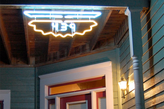 Custom-Made Neon House Numbers | House Numbers