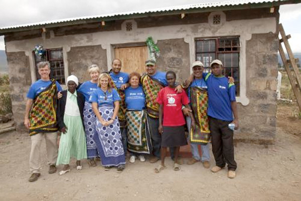 Habitat's 500,000th house in Maai Mahiu, Kenya