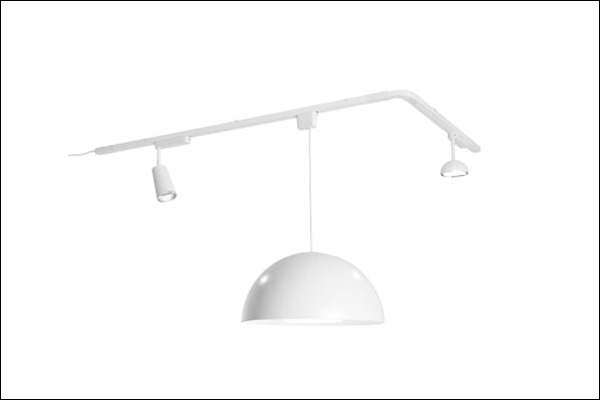 Recalled IKEA track lighting