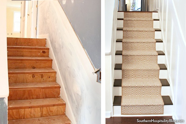 Update Stair Runner Carpet : How to Install Stair Treads