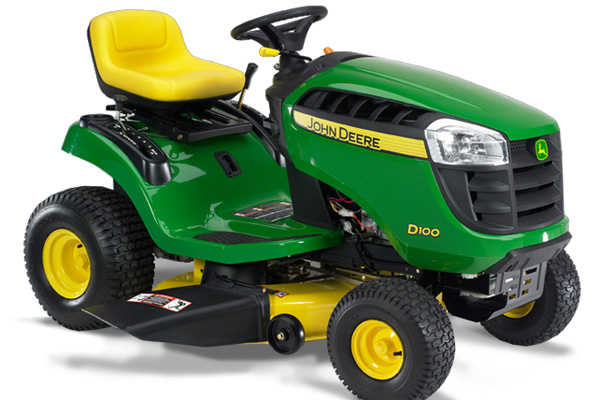 John Deere D100 tractor recall