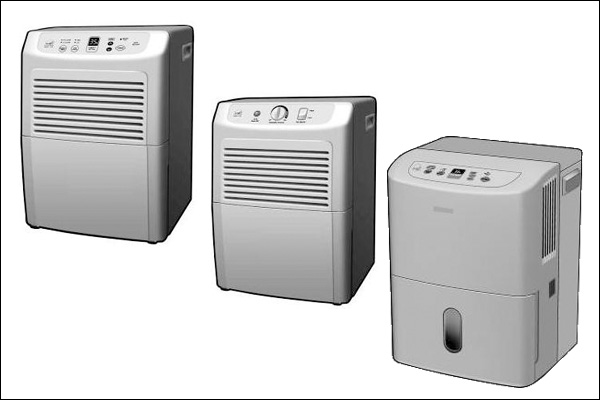 Dehumidifier models that were recalled