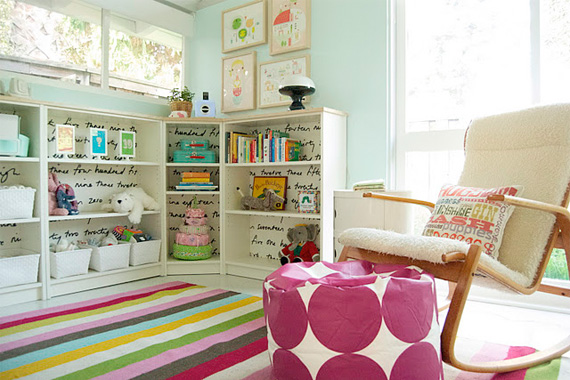 Kids rooms storage ideas organizing and storage houselogic for Organizers for kids rooms