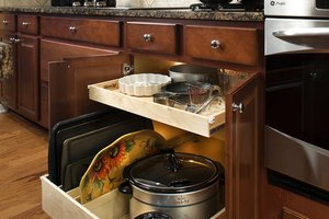 ShelfGenie slide-out kitchen shelving