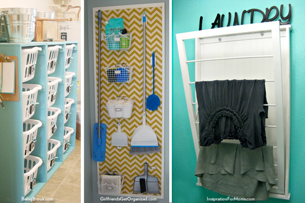 Laundry organization ideas