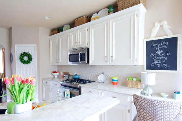 Low Cost White Kitchen Makeover  HouseLogic Classic Kitchens