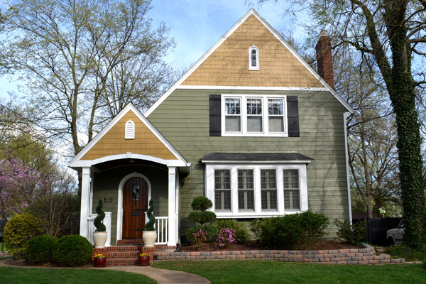 Low-maintenance fiber-cement siding