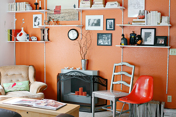 TV-free living room
