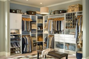 Features For A Master Closet