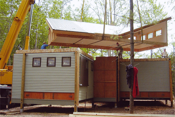 Live play twin cities house in a box for Sip cabins