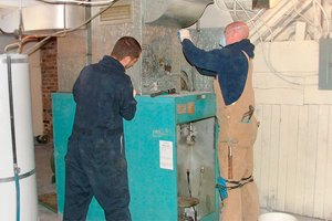 Troubleshooting an oil furnace