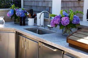 Outdoor Sink Guide Sinks For Your Outdoor Kitchen