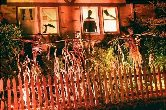 do you shudder at shadows - Exterior Halloween Decorations