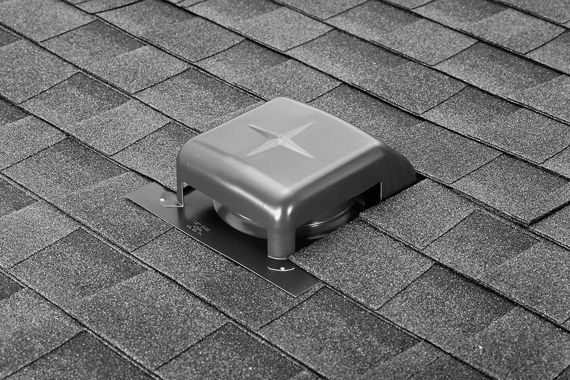 Would Adding A Small Solar Power Fan On The Passive Roof Vent Like The One  Shown Help Flow Any?