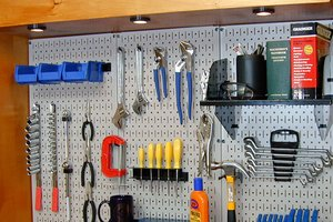 Pegboard Storage Tips Tips For Pegboard Storage