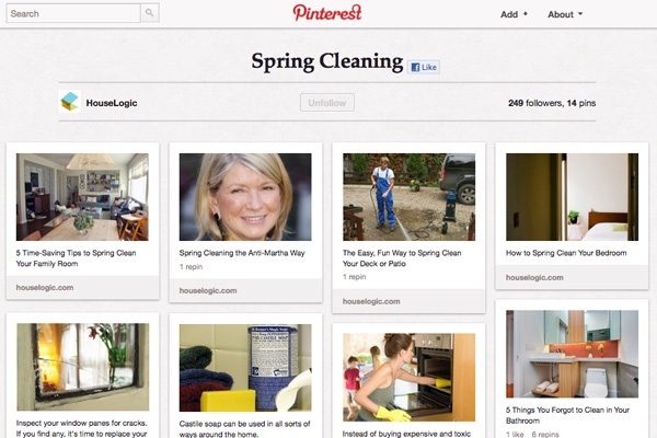 spring cleaning pinterest giveaway