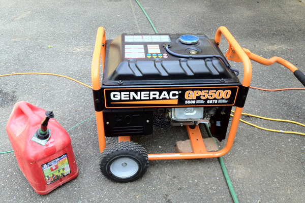 Lisa Kaplan Gordon's portable generator