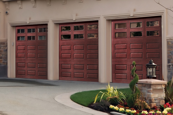 Fiberglass garage doors | Faux wood garage doors